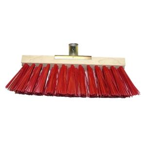 balai cantonnier 60 cm pvc rouge
