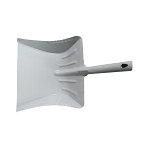 pelle métal laquée grise