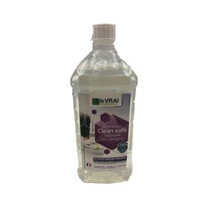 ENT-224 - NETTOYANT CLEAN SAFE Sans allergène Fleur de coton 1L